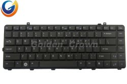 Клавиатура для портативных компьютеров Dell Inspiron 1535 1521 1525 нам Teclado черный без подсветки