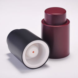 VakuumEdelstahl-Korken-Wein-Flaschen-Stopper-Stecker