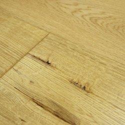 Abbey Minster 3 tiras Oak 18mm sólida lacadas de pavimento em madeira