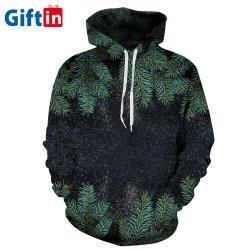 La moda suéter cuello redondo y personalizada, la sublimación 3D de diseños de jersey de lana para niños