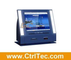 Ordinateur de bureau kiosque pour solde de carte bancaire de vérifier et de paiement
