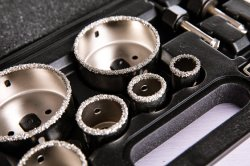 Spezielles galvanisiertes Diamant-Kernbohrer-Bit
