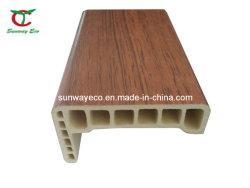 Profil PVC vert de la porte du WPC Architrave&écologique