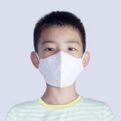 Gesichtsmaske-Zivilgebrauch-Gesichts-Kind-Kind-Schablonen-nichtgewebter Wegwerfrespirator des Qualitäts-Kindes mit der Ohr-Schleife geeignet für Alter 6 bis 12