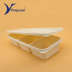 نشا الذرة حاوية الطعام قابلة للتحلل البيولوجي أدوات المائدة وعاء الطعام القابلة للاستخدام مرة واحدة