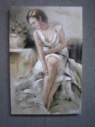 Nu pintura a óleo / Retrato pintura a óleo / pintura a óleo corporal