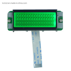 Des Zoll-8pin I2c einfarbige LCD Bildschirmanzeige Zeichen-Bildschirmanzeige-der Baugruppen-16X4