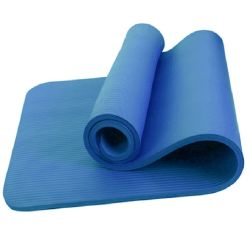 Venta al por mayor fabricantes Estera Del Yoga 10 mm de grosor y ancho Moistureproof Non-Slip Sit-up alfombrilla de gimnasia