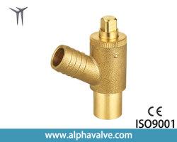 真鍮の角度弁の熱い販売の中国Yのこし器フィルター小切手弁(a. 0207)