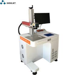Deaktop Faser-Laser-Markierung/Gravierfräsmaschine für Metallhilfsmittel/Aluminium/PVC/PE/Wood/Bamboo/Pharmacy/Tobacco/Food