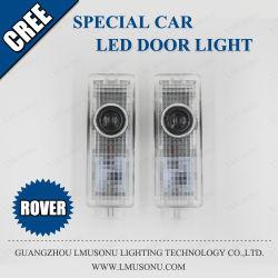 ضوء سيارة خاص لسيارة رينج روڤر LED شبح الظل مصباح الباب بجهد 12 فولت وبقوة 5 واط
