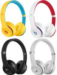 Beatssolo3 Estéreo Auscultadores áudio de 3,5mm a ouvir música com fones de ouvido Microfone do fone de ouvido para jogos