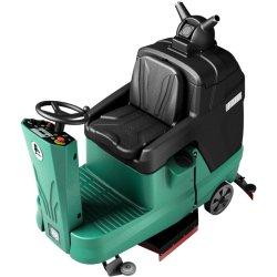 L'utilisation commerciale de la machine de nettoyage du matériel de lavage industriel Ride sur l'outil de sécheur d'épurateur alimenté par batterie