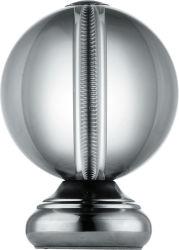 304/316 en acier inoxydable de la main courante des billes bille décorative de la main courante dans les balustrades et mains courantes de montage parapet Ball Post Pac 316s