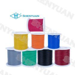 180 grados Shenyuan 300V/500V 30 AWG Super flexible cubierta de silicona suave Plata-níquel alambres de cobre estañado