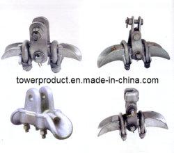 Collier de serrage de suspension Aluminium-Alloy pour les frais généraux du projet de ligne de transmission (MGE-SC009)