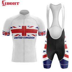Mens Short Sleeved Sportswear Cyclingジャージー(Z-CYJ20200226F)のためのAibort Good Quality