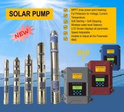 DC AC 호환 MPPT 컨트롤러가 있는 최고 품질의 수중 수중 해수 펌프, 3년 보증
