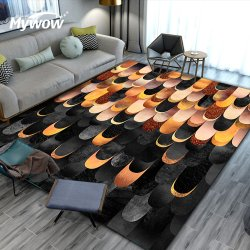 Современной гостиной против скольжения ковры полиэстер ковров и ковровых покрытий
