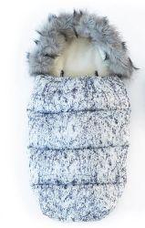 Footmuff Stroller малыша спать Bag мягкий флис мешок для сна для грудных детей