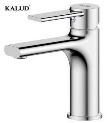 Kaludの真鍮の単一のハンドルのカラーによって終えられる洗面器の水栓の蛇口