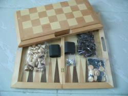 木のチェス(XF811)