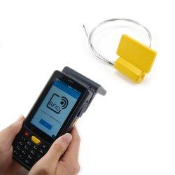 موانع تسرب الكابلات الإلكترونية RFID مع UHF وشريحة HF لـ الحاويات والمركبات السوقية