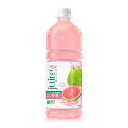 1L de la guayaba de jugo de frutas en botella PET