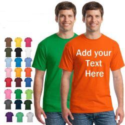 """بيع الرجال الساخن"""" شعار التصميم المخصص لشركة """"يونيسيكس"""" النساء الأطفال الحجم الزائد قميص طباعة على شكل قميص أو قميص مصنوع من القطن الأصلي من الجهة المصنعة الأصلية"""