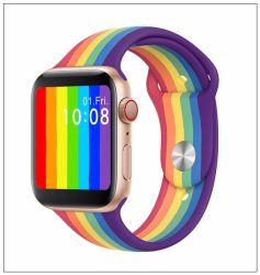 2020 Smart Watch Q520 1,54 pouces avec bretelles amovibles de Voice Control Bt remise en forme de musique d'appel Tracker Q520 Smartwatch jouer de la musique Pk W34 W26 T500