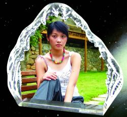 Сублимация покрытием айсберга фото изображения Crystal