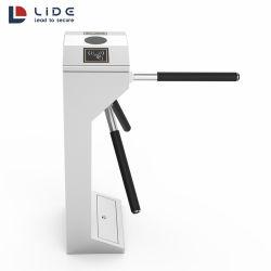 En acier inoxydable 304 Contrôle d'accès de haute sécurité IC/lecteur de carte trépied porte tourniquet