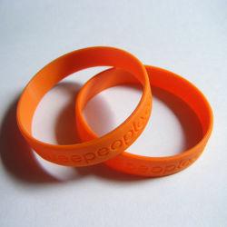 Высокое качество пластика рекламных 3D силиконовый браслет (SB-016)