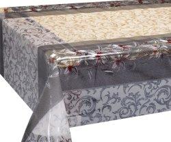 Tovaglia elastica del PVC della fabbrica di XHM per la decorazione in manifesto/documento impermeabili della parete del rullo del coperchio della Tabella del rullo
