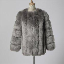 طبقة طلاء فوق الطبقة العالية طلاء الفور الكعورة الزائفة حجم زائد نساء الشتاء في ملابس خارجية