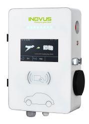 월 박스 스마트 옥pp EV 충전 스테이션 7kW 모드 3 차량용 충전기 유형 2 플러그