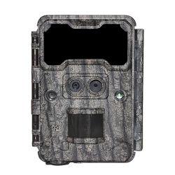 2020 novíssimo 30MP 1080P HD impermeável ao ar livre jogo de vídeo digital da câmara de infravermelhos Dia/Noite Vision Mini lente dupla Remote caça de veados Câmara de Trilha