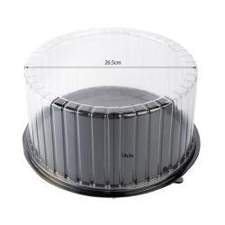 Heiße Art-Kuchen-Haustier-transparente Maschinenhälften-Blasen-verpackenkästen