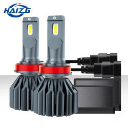 المصباح الأمامي H4 H4 LED فائق السطوع، 70 واط، 20000lm H7 نظام الإضاءة الأوتوماتيكية H11 H4 9005 9006