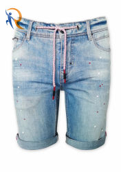 工場方法カスタムファブリックデニムのジーンズのズボンメンズ不足分
