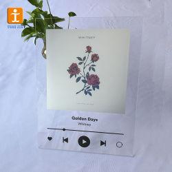 Morceau de verre acrylique Poster DIY tout morceau de l'artiste album miroir UV Imprimer