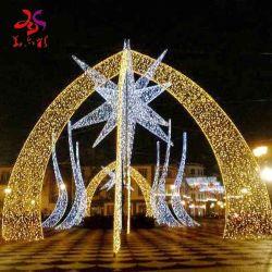 As luzes LED cava decoração Feriados Theme Park e Street