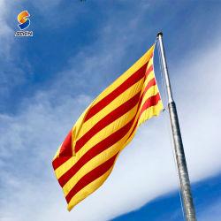 De aangepaste Kleine Trots Lgbt van de Vlag van de Schok van de Grootte Afgedrukte Vrolijke Polyester 14*21cm Golvende Hand van de Hand - de gehouden Vlaggen van de Regenboog