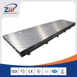 Hochpräzise Super Flat Aluminium/Aluminium Platte/Blech für Legierung 7075/6061/6063/5083/5052/1 8 Zoll/1 4 Zoll 4X8