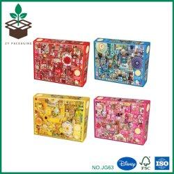 Colorido Design Personalizado de Forma Retangular Adulto Toy Puzzle