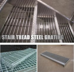 الإطار الفولاذي غطاء قناة مغلفنة مغلفنة من Catwalk ذات إطار ساخن للمطر حز قاطع التذبذب الصلب