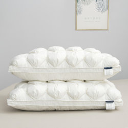 Ручная работа витая утка вниз пуховые одеяла мягкого хлопка для домашних и гостиницы