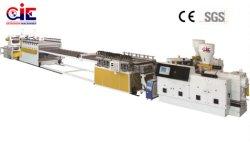 Plastic Vrij pvc WPC/de Raad die van het Schuim van de Korst de Lijn/de Machines van de Uitdrijving van de Machine maken