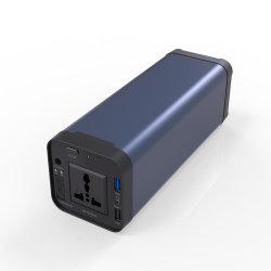 200W Camping Emergency Power Bank 12V 40A Opgeladen door Solar / AC stopcontact / auto