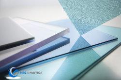 La difusión de policarbonato transparente de hoja maciza Hoja de PC con UV -para techos de hojas Anti ondulado